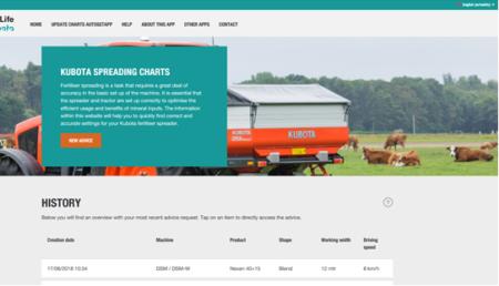Nueva Website y nueva App – Fácil ajuste de su abonadora Kubota