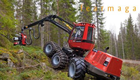 Fearmaga convoca el curso `Manejo y mantenimiento de cosechadoras forestales