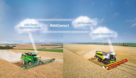 Intercambio de datos con CLAAS, 365FarmNet y John Deere DataConnect ya está disponible