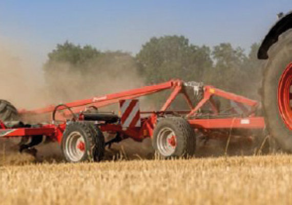 PREMIO NOVEDAD TÉCNICA FIMA 2020 Cultivador Kverneland Turbo T i-tiller