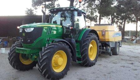 Agricola Castellana entrega  JOHN DEERE 6175R en Nava de la Asunción (Segovia)