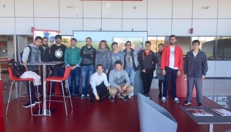 Visita a la empresa Pedro Gómez García la Escuela de Capacitación Agraria de Albillos, Burgos
