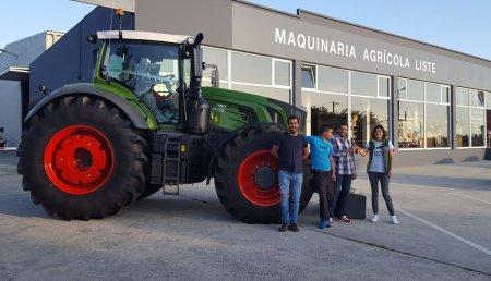 Maquinaria LISTE  entrega Fendt 939 Vario Profi Plus de 390C.V. a la cooperativa ABELLAMESOS de Frades - La Coruña