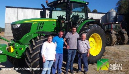 Agrícola Noroeste entrega a SAT ARROXO,  John Deere 6195R