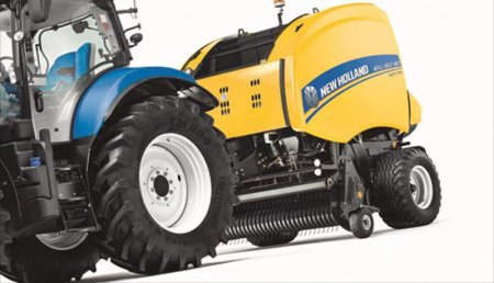 NUEVA ROTOEMPACADORA DE CAMARA VARIABLE ROLL-BELT DE NEW HOLLAND: 20% MAS DE CAPACIDAD Y PACAS 5% MAS DENSAS