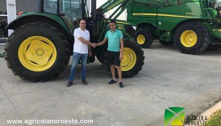 Agrícola Noroeste entrega John Deere 6130M a s.c.  Ribe