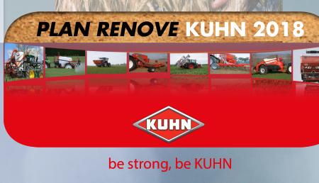 Plan Renove KUHN: ¡hasta 3.000 euros por tu máquina usada!