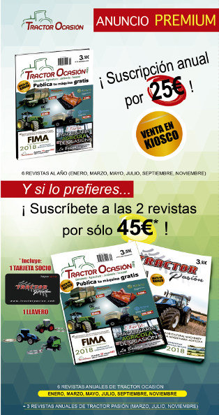 Revista TractorOcasión y TractorPasión