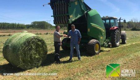 Agrícola Noroeste entrega ROTOEMPACADORA V451G a Alfredo Lopez