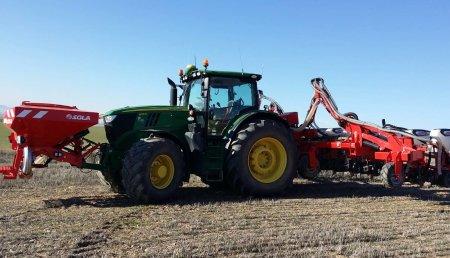 SOLA Maquinaria Agrícola  DEMOSTRACIÓN de SIEMBRA VARIABLE