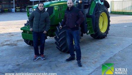 Agrícola Noroeste entrega John Deere 6130M  en Valdefinjas.