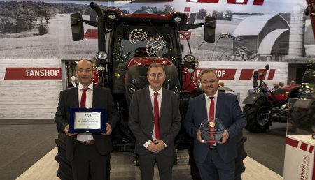 El Maxxum 145 Multicontroller de Case IH se lleva los premios Tractor del Año y Mejor Diseño 2019