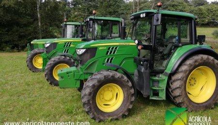Agrícola Noroeste entrega John Deere 6130M a Divicnis Agroservicios SL