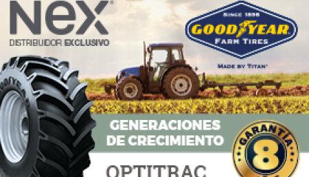 Nex Tyres, distribuidor especialista en neumáticos de agricultura, refuerza su stock para la temporada de cosechadora