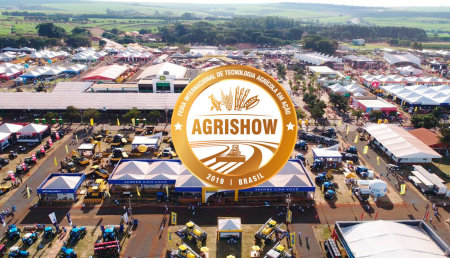 Negocios en Agrishow crecen el 6,4% y alcanzan R$ 2,9 mil millones
