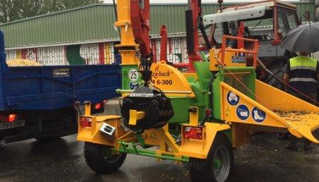 Maxideza entrega trituradora Heizochak modelo hm 6-300 al Exmo. Concello de Lalin.