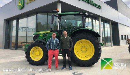 Agrícola Noroeste entrega John Deere  6130R a Jaime