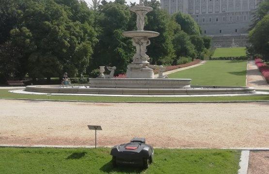 Patrimonio Nacional apuesta por la tecnología más avanzada para el mantenimiento de sus jardines