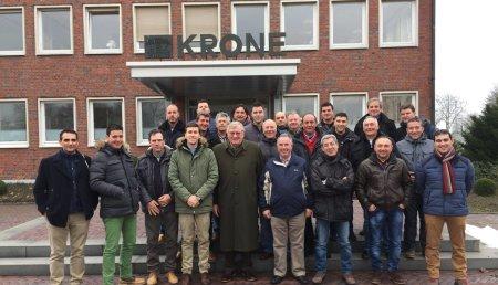 Deltacinco - Clientes de Palencia visitan las fábricas de Maschinenfabrik Bernard Krone GmbH & Co. KG, AMAZONEN-Werke H. Dreyer GmbH & Co. KG y Bernard van Lengerich Maschinenfabrik Gmbh & Co.KG - BvL