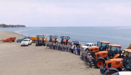 Kubota desembarca en las playas de Estepona
