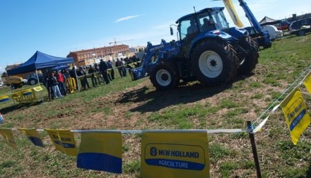 Demo New Holland AG en La Rioja: Caravana T4 y T5