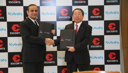 "Kubota crea una ""joint venture"" con la compañía india Escorts Ltd"