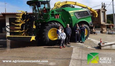 Agrícola Noroeste  entrega John Deere 9700  a Servicios Agricolas Bermudez