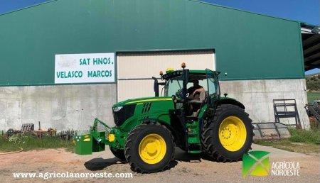 Agrícola Noroeste entrega John Deere  6R - 6215R a SAT Hermanos Velasco Marcos