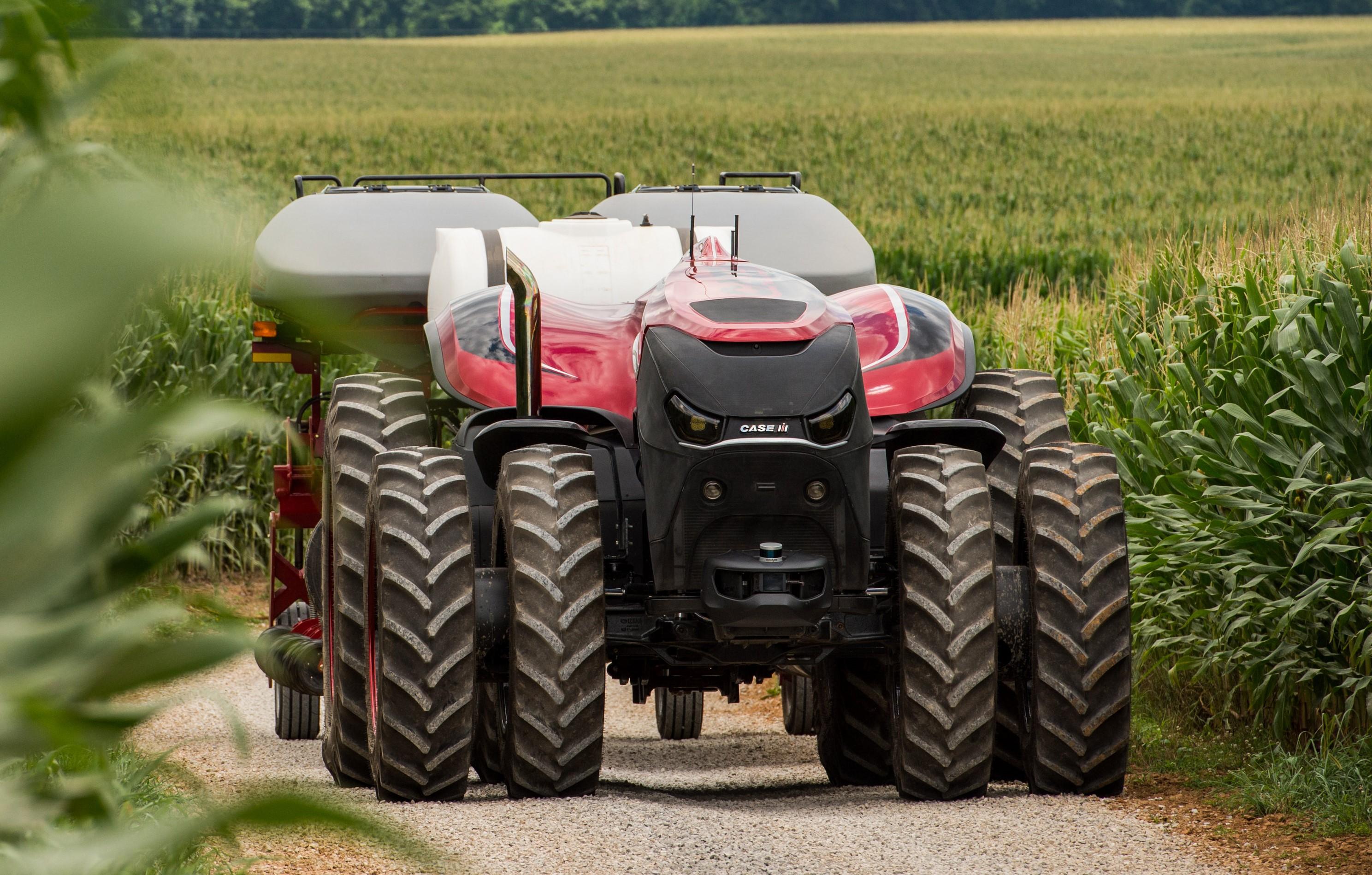 La tecnología del tractor autónomo muestra el... - TractorPasión